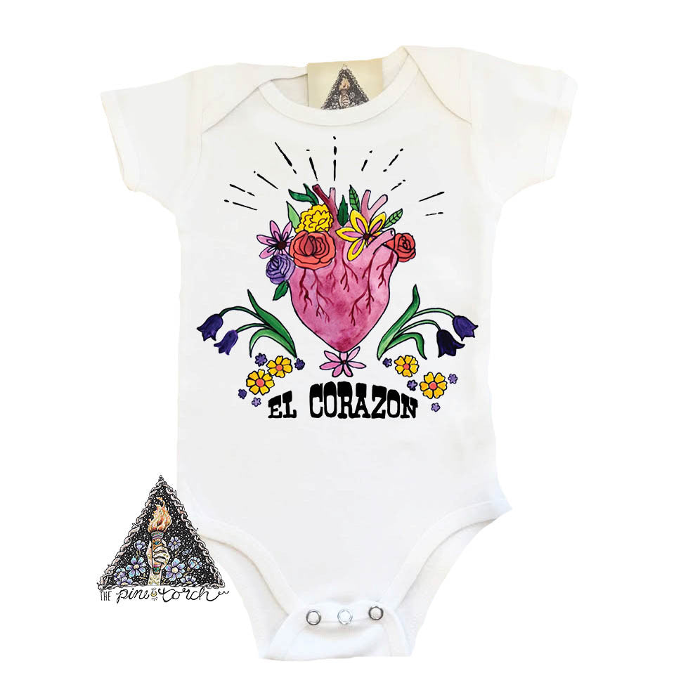 « EL CORAZON » BODYSUIT