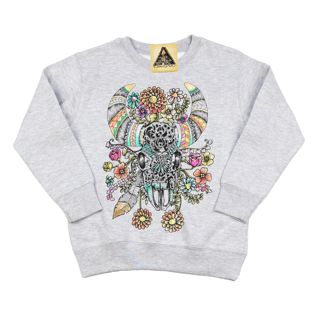 « ELECTRIC BULL » KID'S PULLOVER
