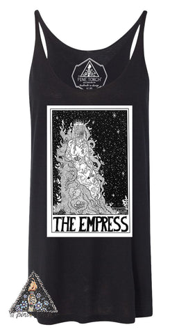 « THE EMPRESS // TAROT » WOMEN'S SLOUCHY TANK