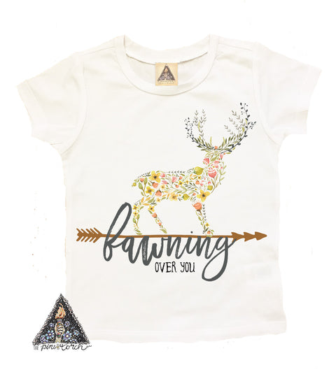 « FAWNING FOR YOU » KID'S TEE