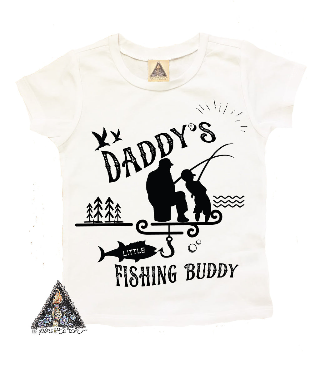 « DADDY'S FISHING BUDDY » KID'S TEE