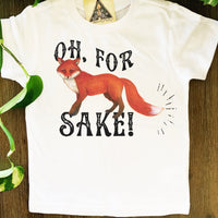 « FOR FOX SAKE » KID'S TEE