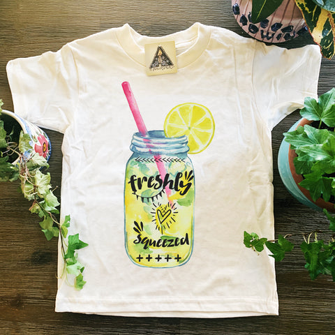 « FRESHLY SQUEEZED » KID'S TEE