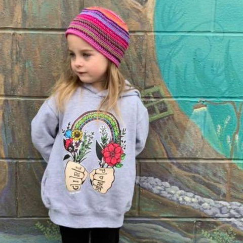 « GIRL POWER » KID'S HOODIE or PULLOVER
