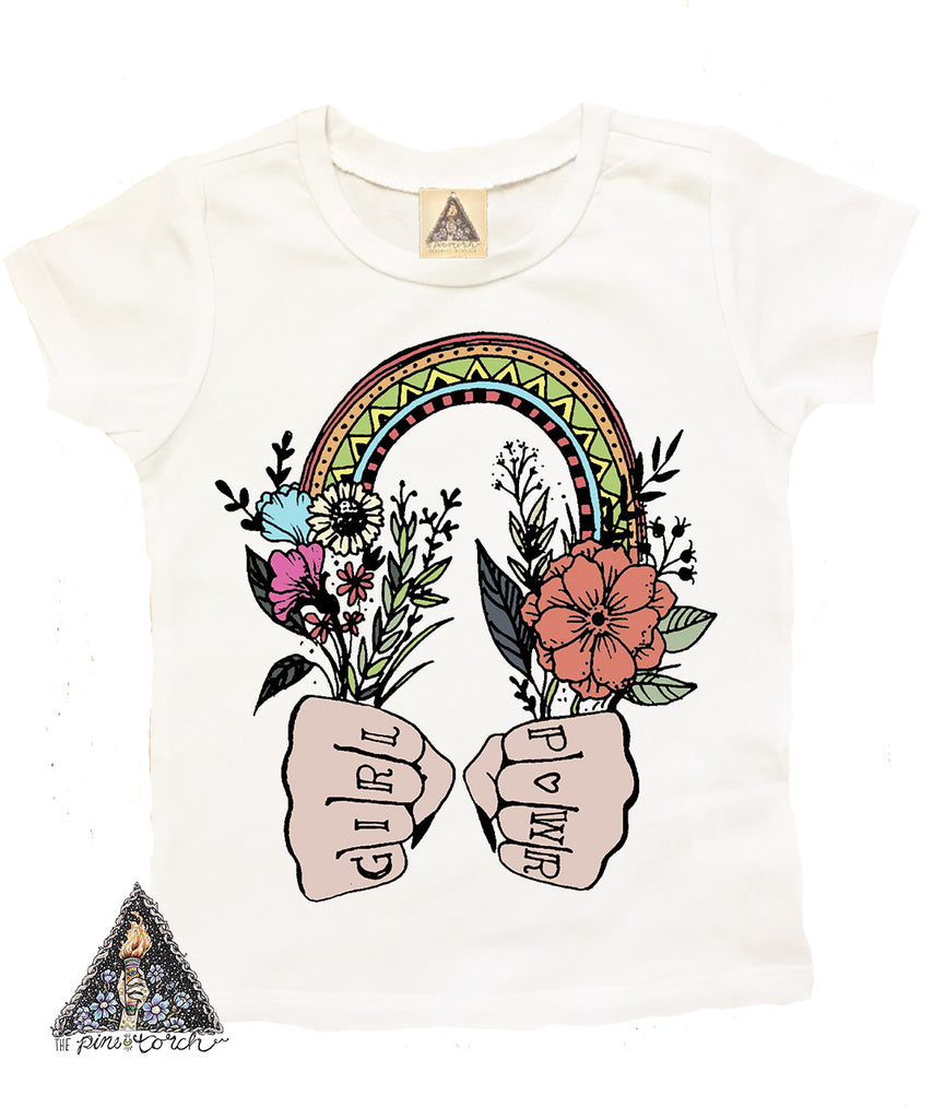 « GIRL POWER » KID'S TEE