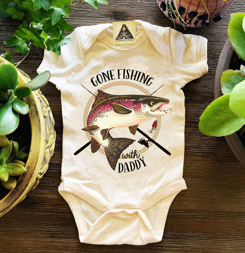 « GONE FISHING WITH DADDY » BODYSUIT
