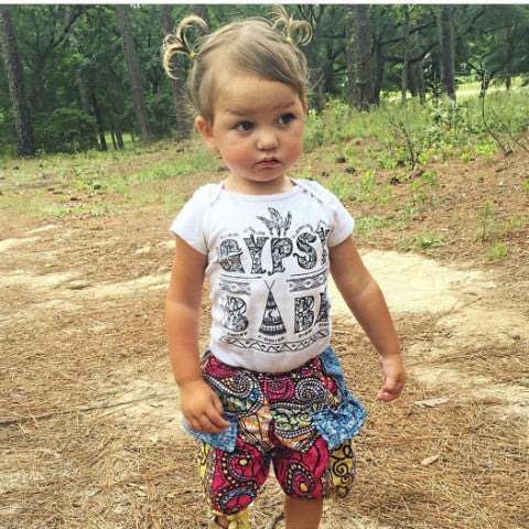 « GYPSY BABE » KID'S TEE