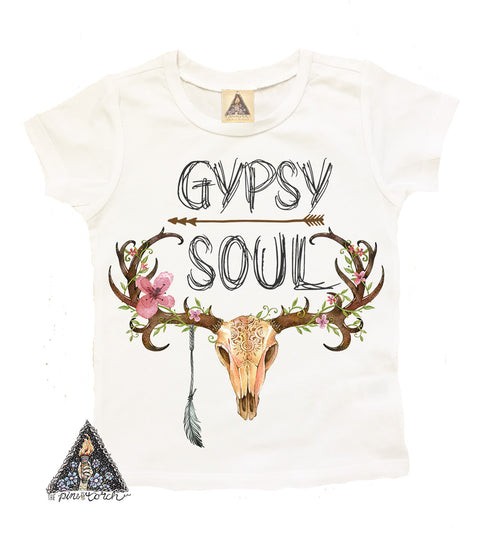 « GYPSY SOUL » YOUTH TEE