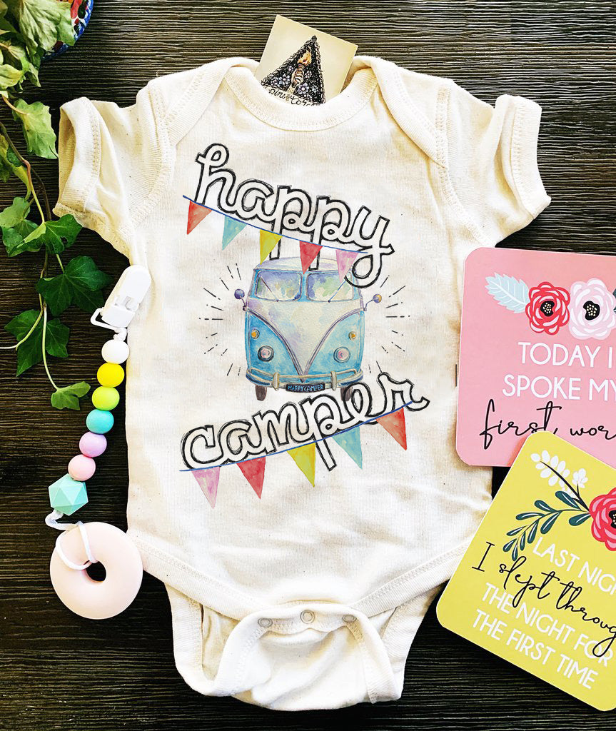 « HAPPY CAMPER » BODYSUIT