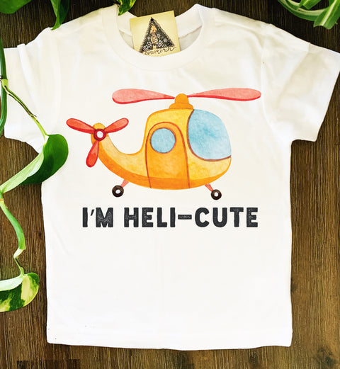 « HELI-CUTE » KID'S TEE