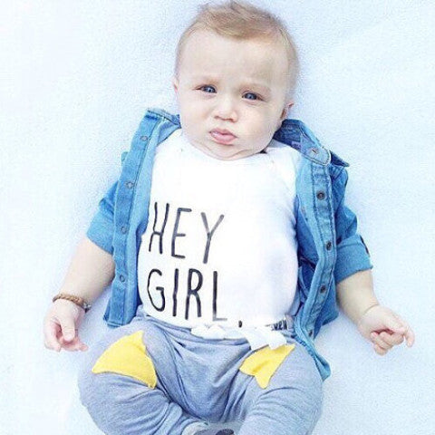 « HEY GIRL, » KID'S TEE
