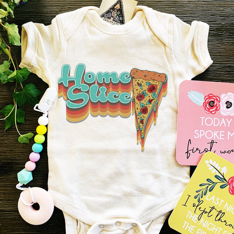 « HOME SLICE » BODYSUIT