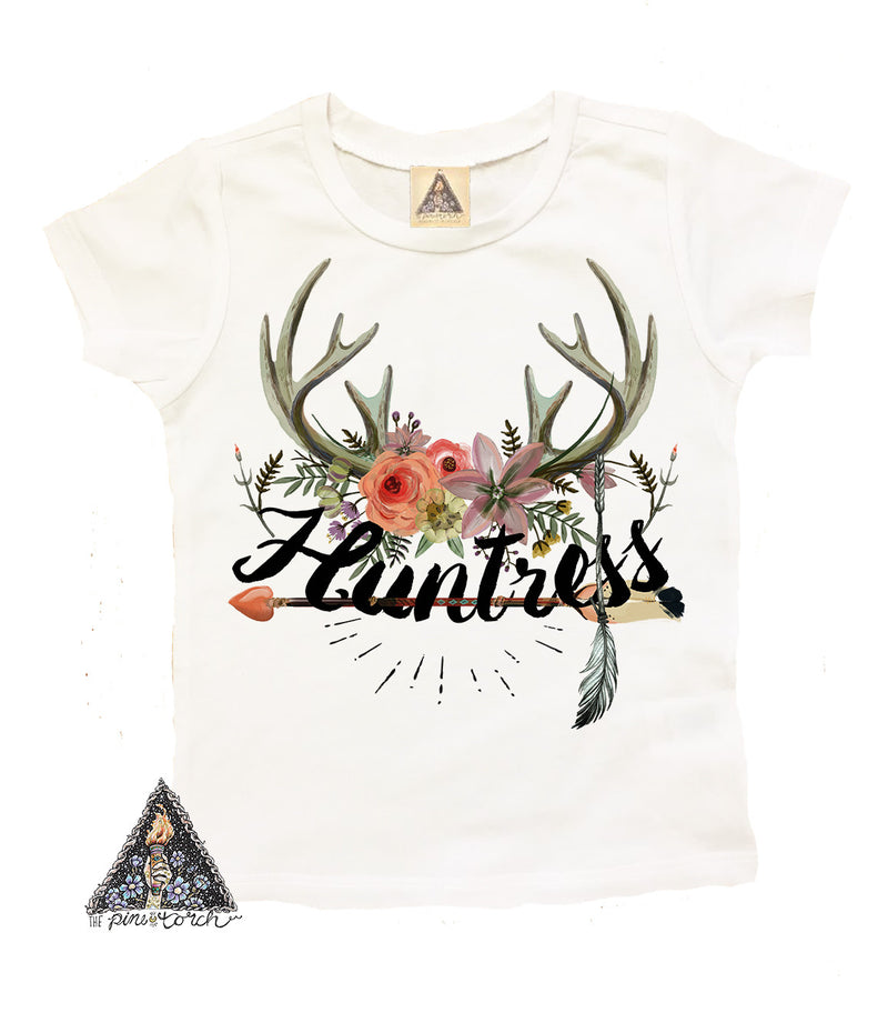 « HUNTRESS » KID'S TEE