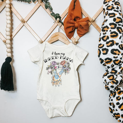 « I LOVE MY INKED MAMA » BODYSUIT