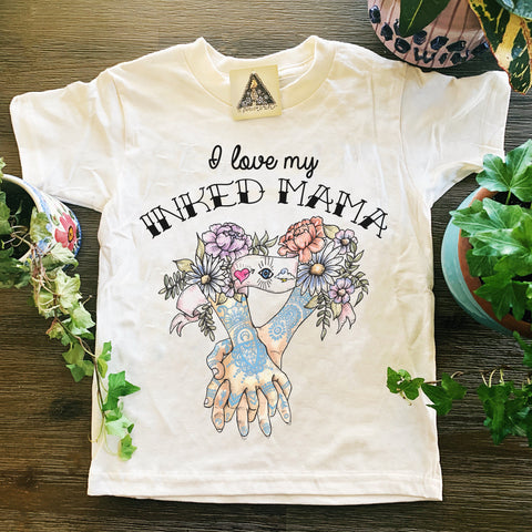 «I LOVE MY INKED MAMA » KID'S TEE