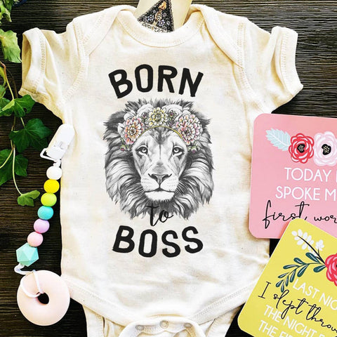 « BORN TO BOSS » BODYSUIT