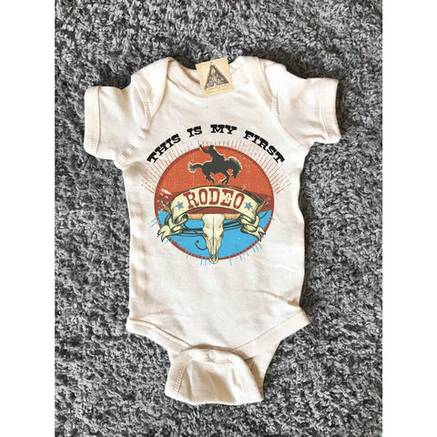 « THIS IS MY FIRST RODEO » BODYSUIT