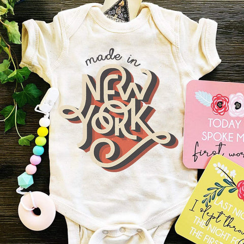 « NEW YORK STATE OF MIND » BODYSUIT