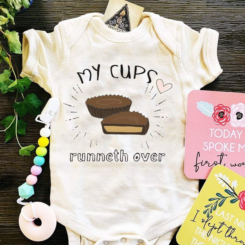« MY CUPS RUNNETH OVER » BODYSUIT