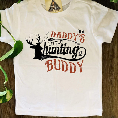 « HUNTING BUDDY » KID'S TEE