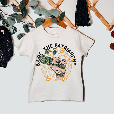 « SAGE THE PATRIARCHY » KID'S TEE