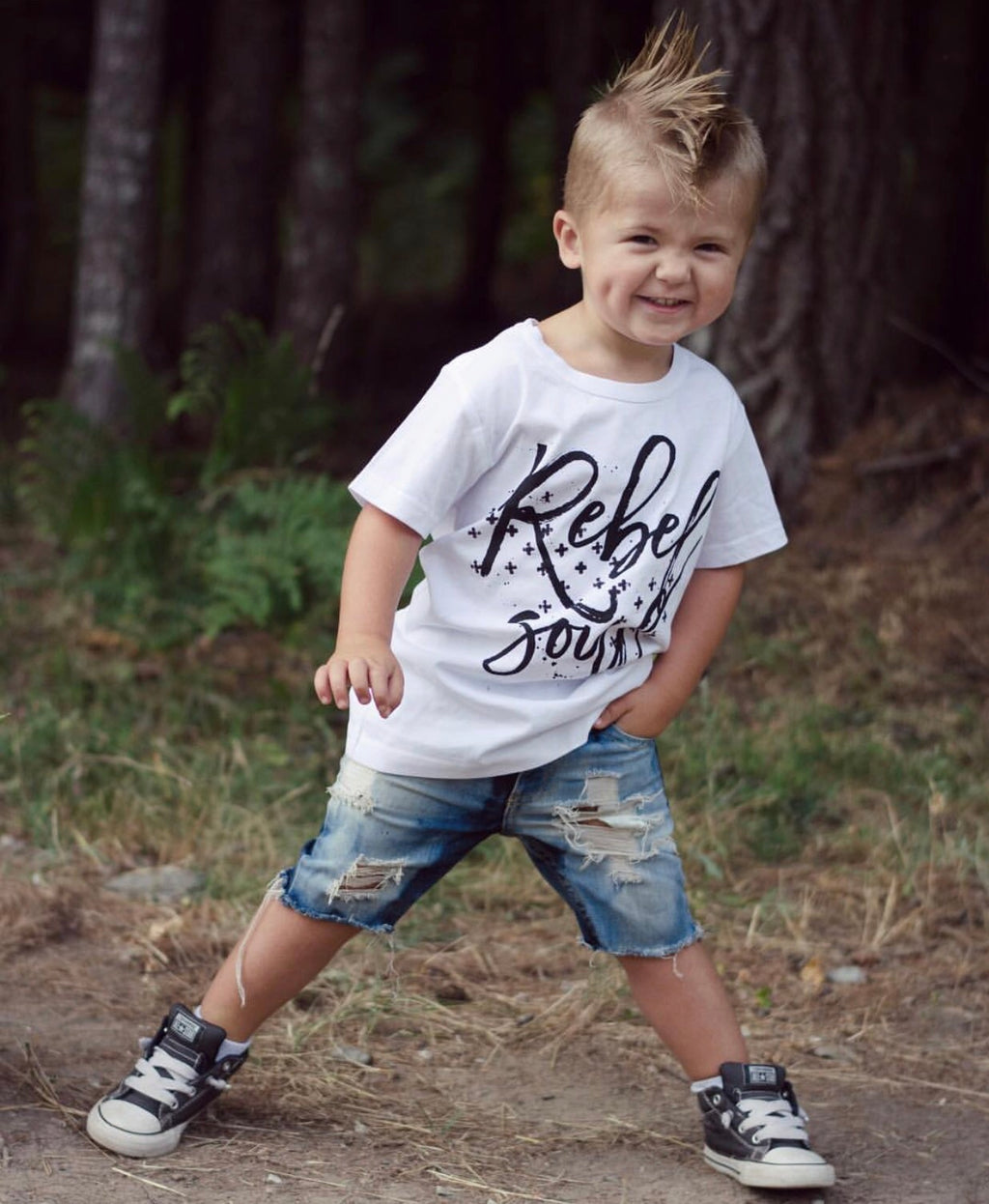 « REBEL SOUL » KID'S TEE