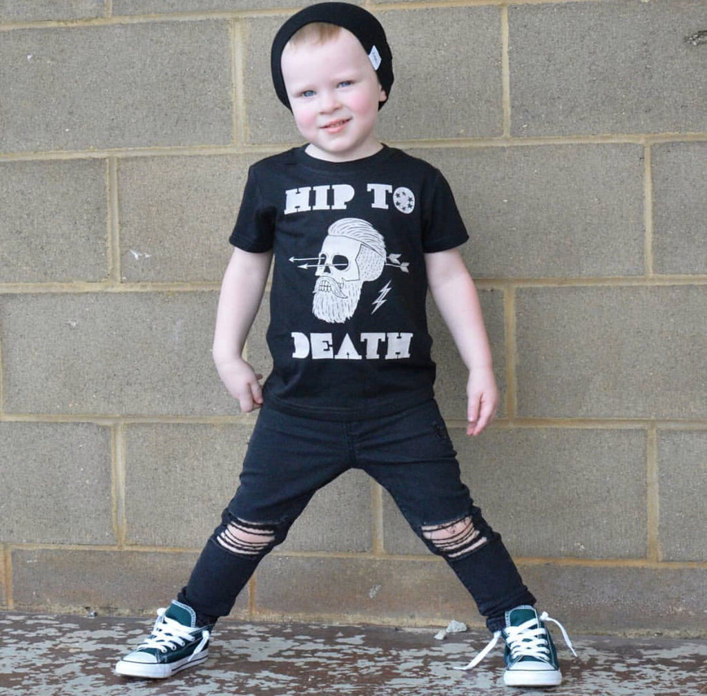 « HIP TO DEATH » KID'S TEE