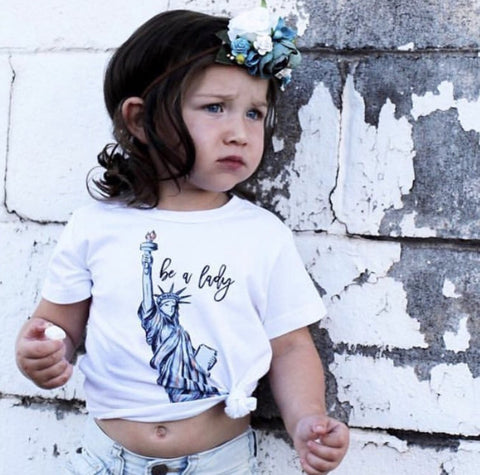 « BE A LADY » KID'S TEE