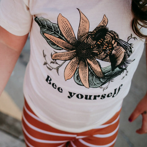 « BEE YOURSELF » KID'S TEE