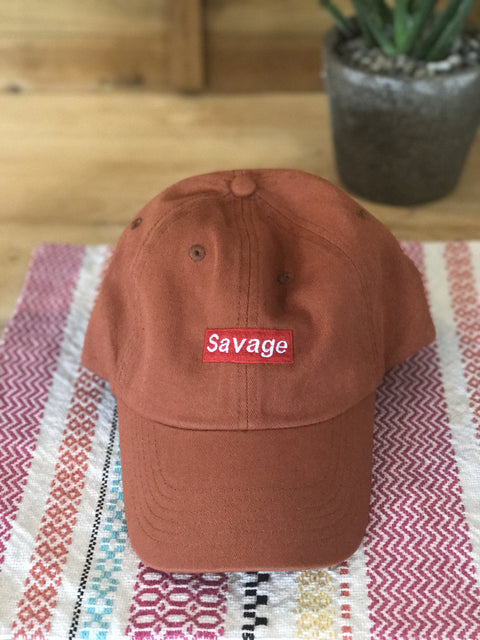 « SAVAGE » WOMEN'S BASEBALL HAT