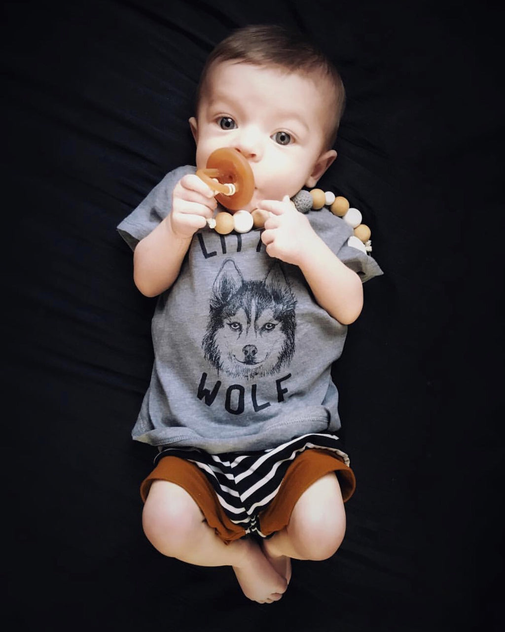 « LITTLE WOLF » KID'S TEE