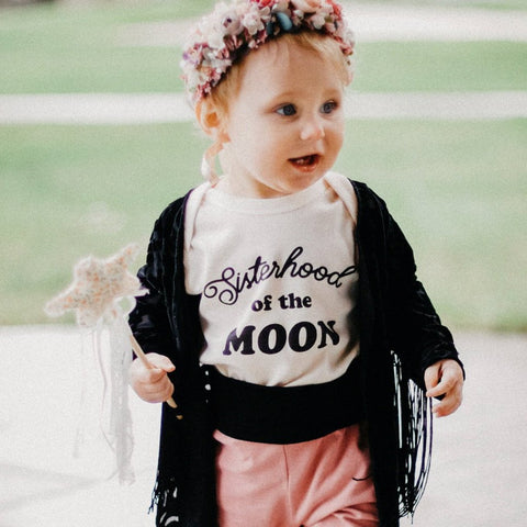 « SISTERHOOD OF THE MOON » CREAM or BLACK BODYSUIT