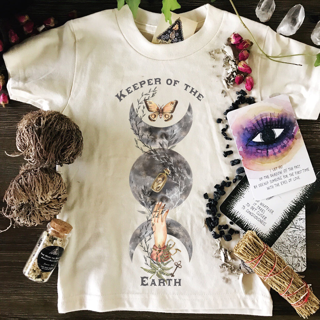 « KEEPER OF THE EARTH » KIDS TEE