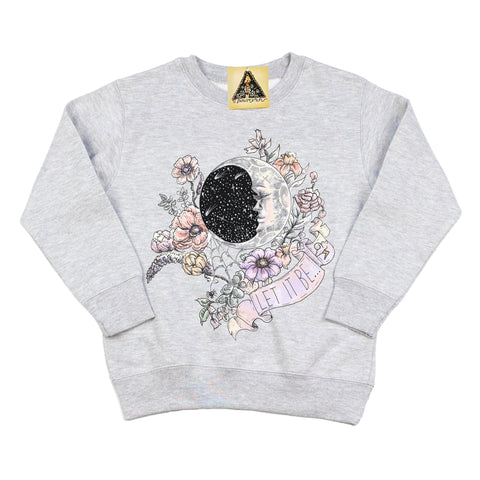 « LET IT BE » KID'S PULLOVER