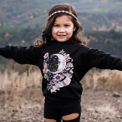« LET IT BE » KID'S HOODIE