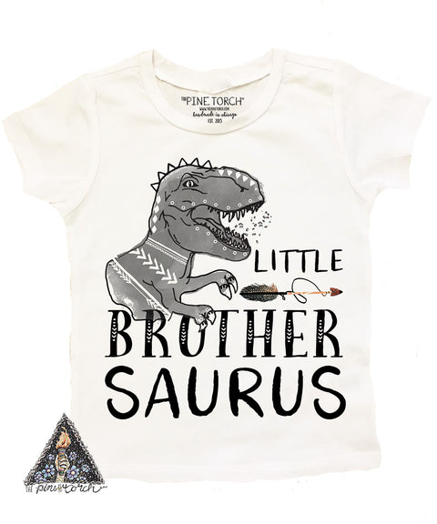 « LITTLE BROTHER SAURUS » KID'S TEE