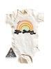 « LITTLE BROTHER RETRO RAINBOW » BODYSUIT