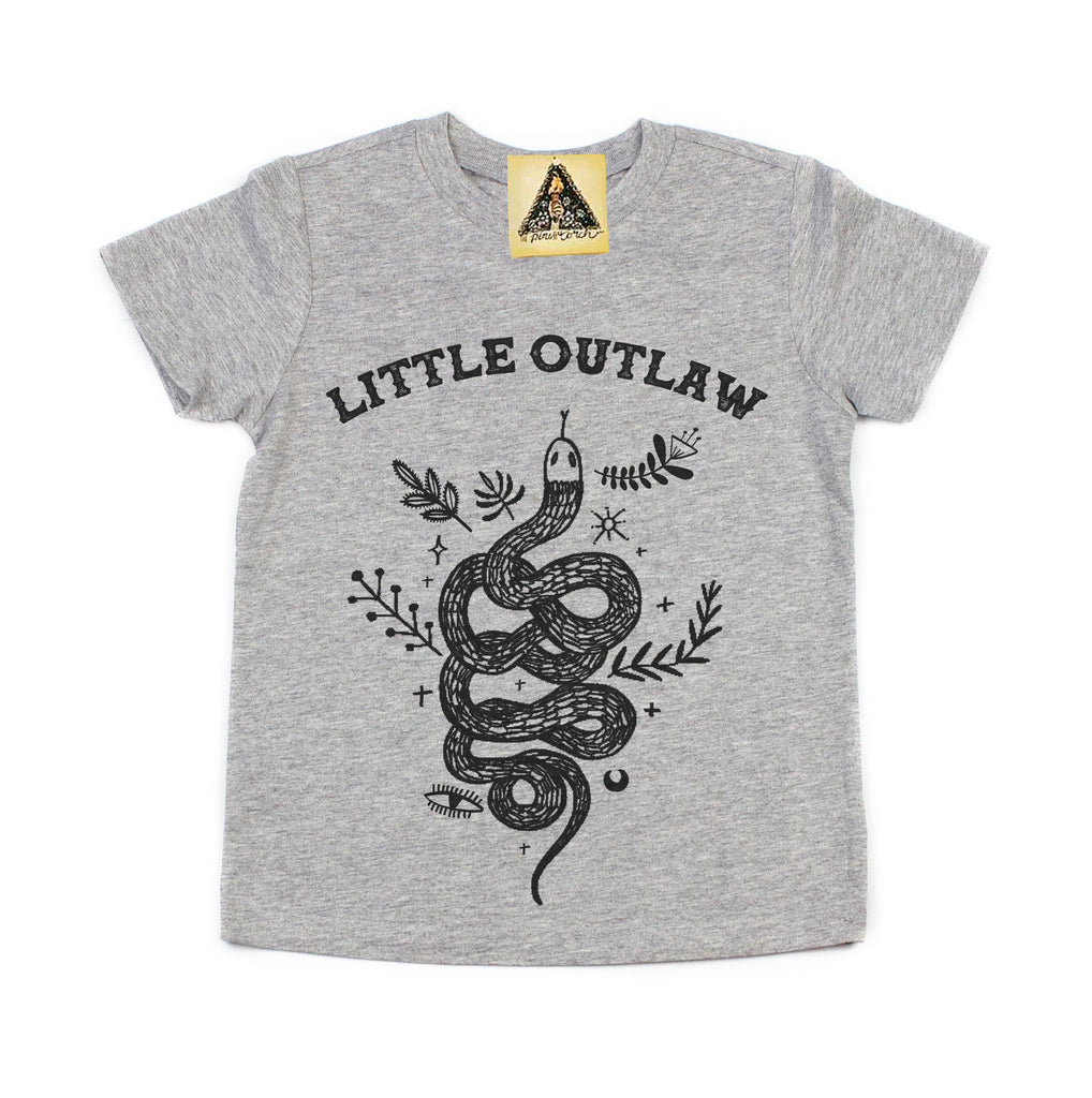 « LITTLE OUTLAW » KID'S TEE