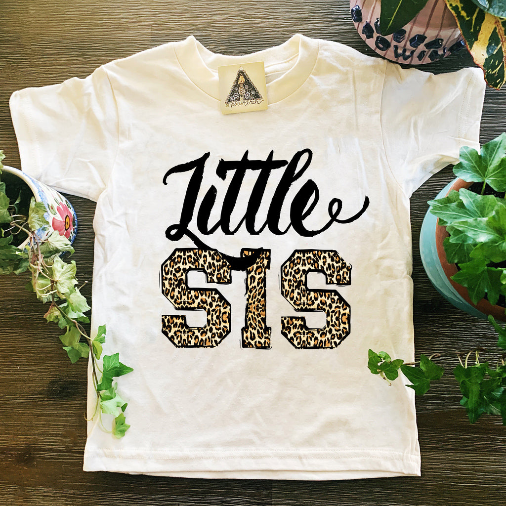 « LITTLE SIS LEOPARD » KID'S TEE