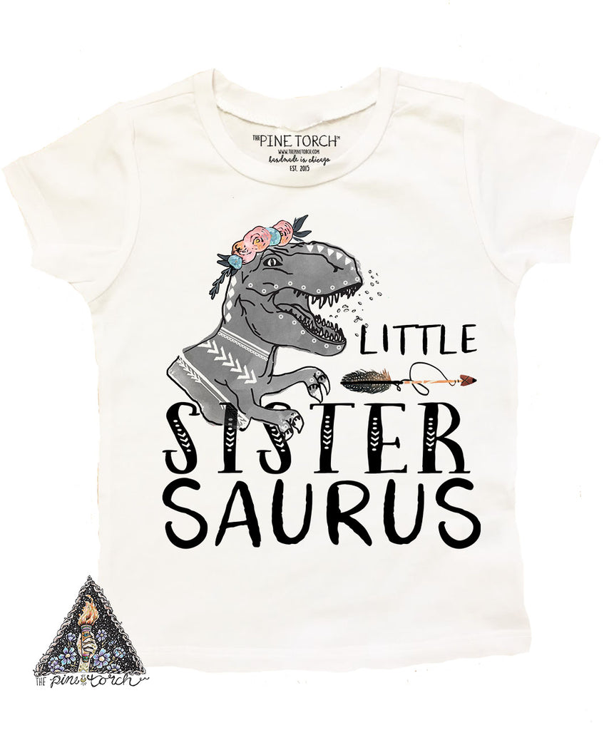 « BIG SISTER SAURUS » KID'S TEE