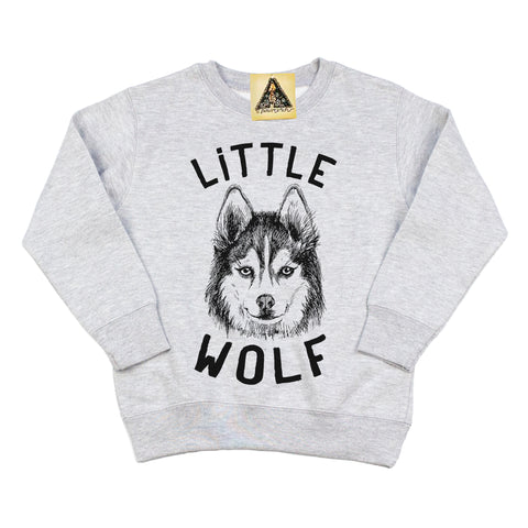 « LITTLE WOLF » KID'S PULLOVER