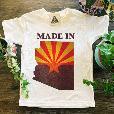 « MADE IN ARIZONA » KID'S TEE