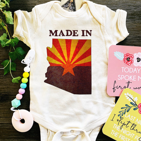 « MADE IN ARIZONA » BODYSUIT