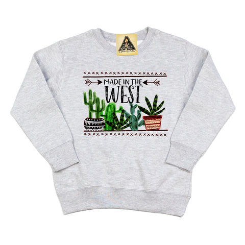 « MADE IN THE WEST » KID'S PULLOVER