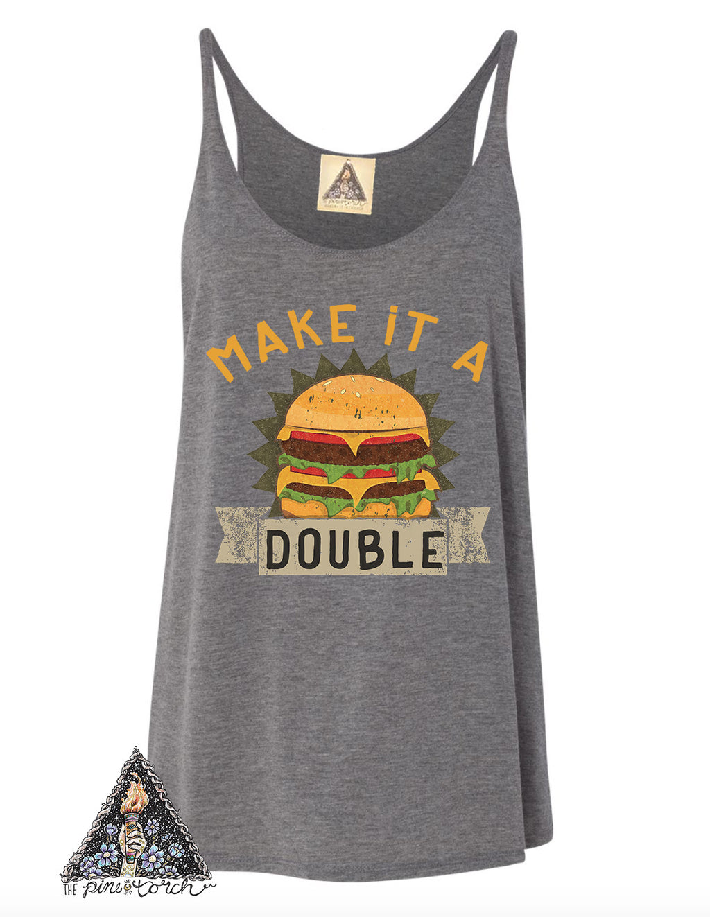 « MAKE IT A DOUBLE » WOMEN'S SLOUCHY TANK