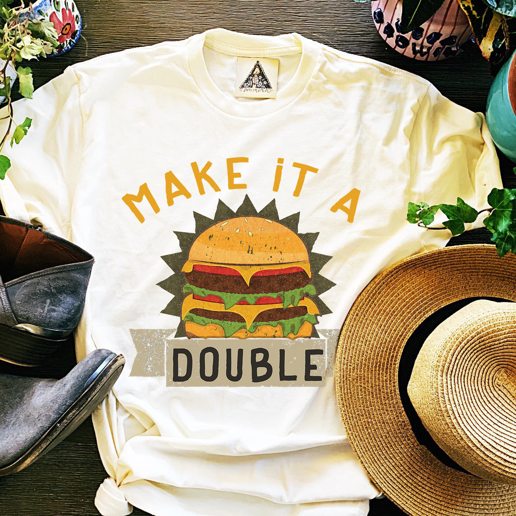 « MAKE IT A DOUBLE » KID'S TEE