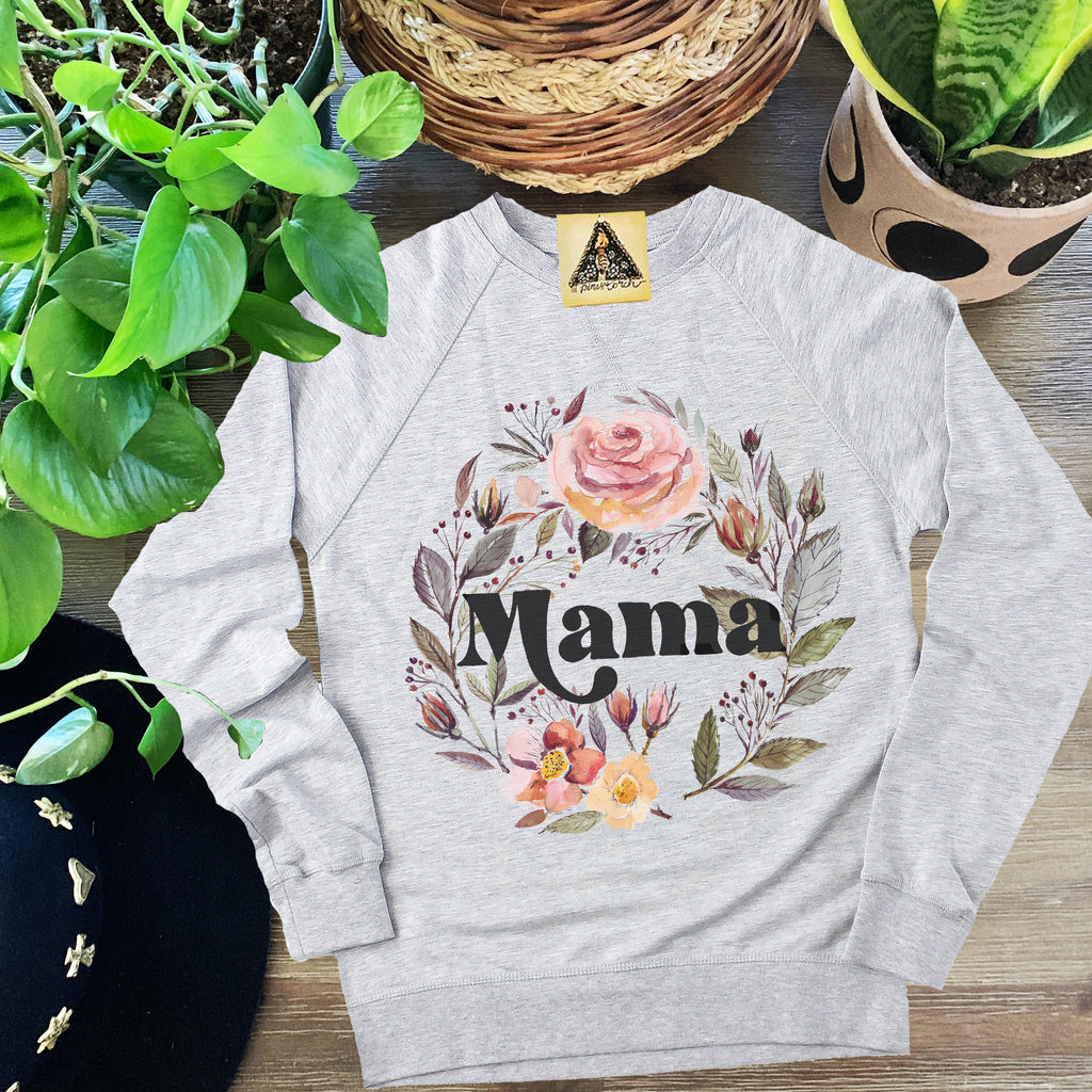 « MAMA WITH ROSES » UNISEX PULLOVER