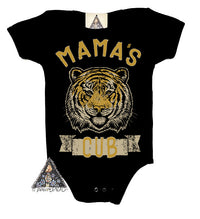 « TIGER MOM + MAMA'S CUB » MOMMY & ME // Racerback Tank + Bodysuit or Tee