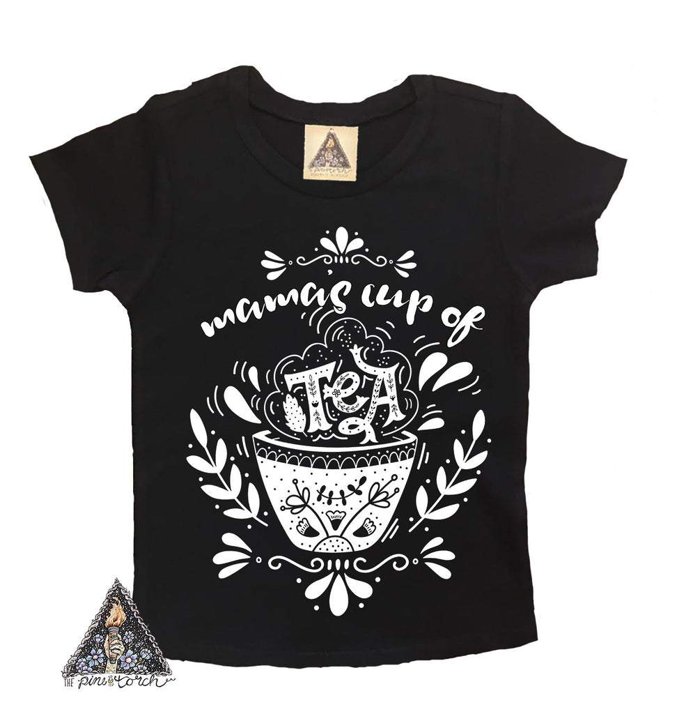« MAMA'S CUP OF TEA » KID'S TEE