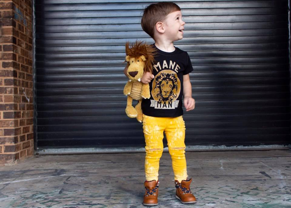 « MANE MAN LION » KID'S TEE